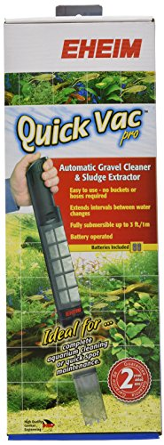 EHEIM Quick Vac Pro Automatic Gravel Cleaner and Sludge Extractor- PetOverstock