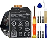 Replacement Battery C11N1502 for ASUS Zen Watch 2 WI501Q Smart Watch Free Adhesive Tool