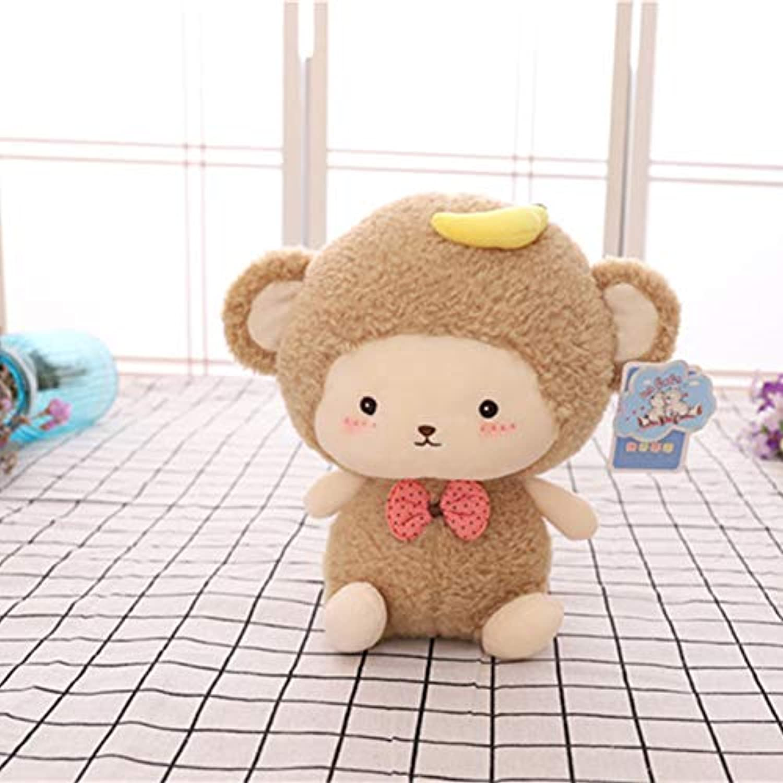DONGER Doodle Wald Puppe Serie Spielzeug AFFE Kaninchen Schaf Puppe Kind Geburtstagsgeschenk, AFFE, 12 Zoll (30 cm)