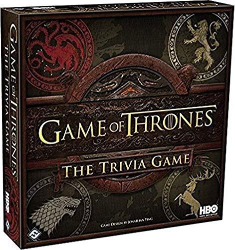 Fantasy Flight Games Juego of Tronos: La Trivia-Spiel - Juego Básico