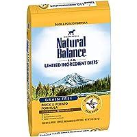 【1kg単位小分け済み品】 ナチュラルバランス L.I.D. ダック&ポテト ドッグフード 全年齢全犬種対応 10.9kg