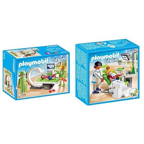 Playmobil 6659 - Röntgenraum &  6662 - Zahnarzt