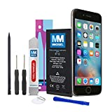 MMOBIEL Battery Compatible with iPhone 6 Li-Ion Replacement Battery 3.8v 1810 mAh 6.9