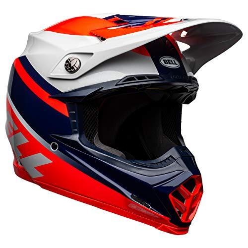 BELL Moto-9 MIPS Dirt Helmet (Prophecy Gloss Infared/Navy/Gray - Small)
