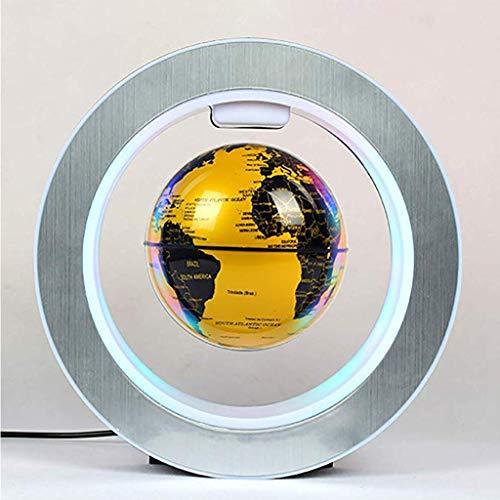 FyuFE Globo De 4 Pulgadas De Levitación Magnética, Tecnología Silenciosa De Adsorción Automática Después De Apagar Lavable Ahorro De Energía Y Protección del Medio Ambiente