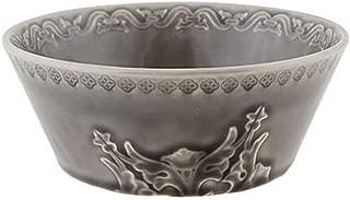 Bordallo Pinheiro Rua Nova Cereal Bowls, Anthracite, Set of 4