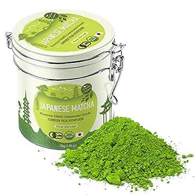 Matcha Green Tea Powder from Matcha Organics