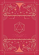 RPG journal: Mixed paper: Ruled, graph, hex: For role playing gamers: Notes, tracking, mapping, terrain plans: Vintage dee...