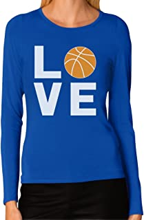 Love Basketball - Gift Idea for Basketball Fans Cool Women Long Sleeve T-Shirt
