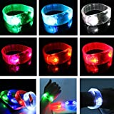 My Toots LED Sports Cycling Survival Light Voice Activated Bracelet Wrist Band Blinker
