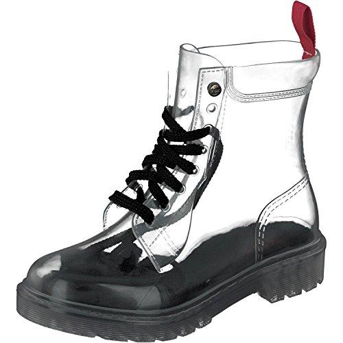 GOSCH SHOES Damen Boots Schuhe Stiefel Wasserfest durchsichtig7105-150-0 in PVC (39)