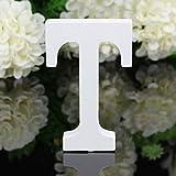 Decorativo Legno Lettere, Appeso Parete 26 Lettere Legno Alfabeto Parete Lettera per Camera Matrimonio Compleanno Partito Casa Decor, Gspirit (T)