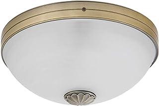 Plafonnier Style Art Nouveau Luminaire Intérieur Bronze/Verre Albâtre 1/3/743