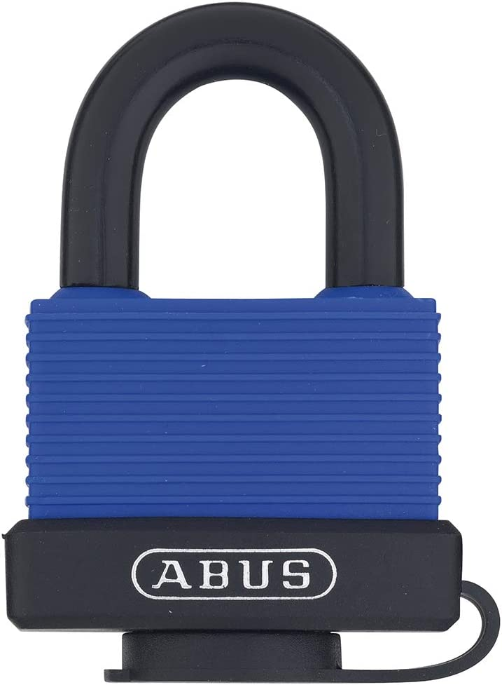 ABUS 70 45 All Weather Weatherproof Solid Padlock Oakland Mall Blue Brass Max 74% OFF