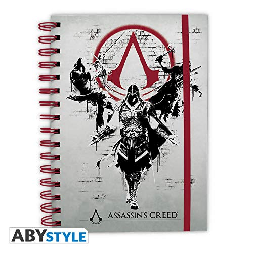 ABYstyle Notizbuch mit Motiv Assassin's Creed