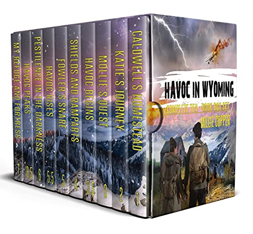 The Complete Havoc in Wyoming Series: A Ten-Book Box Set | America's New Apocalypse by [Millie Copper]