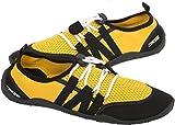 Cressi Elba Pool Shoes Zapatillas Chanclas Unisex Adulto, Amarillo/Negro, 48