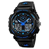 SKMEI Sports Analog-Digital Blue Dial Men's Watch