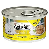 Gourmet Gold Savoury Cake Adult Cat with Chicken 85g 85g Gourmet Quantity: 1