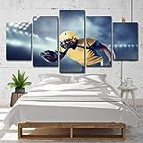 Image Sur Toile Rugby Homme Casque Décoration Peinture Décoration Murale Moderne Impressions Hd-B-Noframe_40X60Cmx2_40X80Cmx2_40X100Cmx1