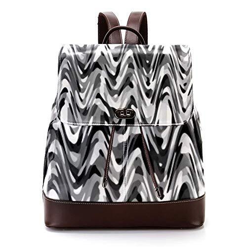 fasciatoio wave Casual PU Leather Zaino per Uomini
