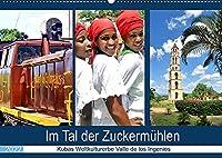 Im Tal der Zuckermuehlen - Kubas Weltkulturerbe Valle de los Ingenios (Wandkalender 2022 DIN A2 quer): Land und Leute im Naturparadies Valle de los Ingenios (Monatskalender, 14 Seiten )