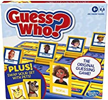 Hasbro Games Guess Who? Board Game with People and Pets, The Original Guessing Game for Kids Ages 6 and Up, Includes...