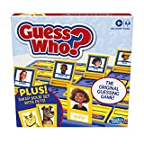 Hasbro Games Guess Who? Board Game with People and Pets, The Original Guessing Game for Kids Ages 6 and Up, Includes People Cards and Pets Cards