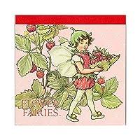 メモパッド・スクエア The Strawberry Fairy グリーンフラッシュ FF-135