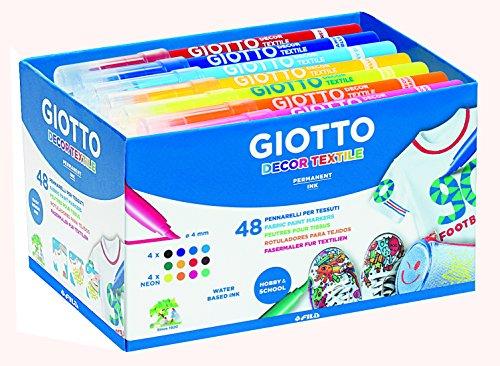 Giotto Decor textile - 48 feutres pour tissus