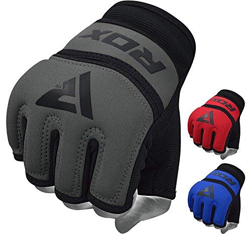 RDX Innenhandschuhe MMA Boxbandagen Handschuhe Sandsackhandschuhe Sparring Innere Grappling Trainingshandschuhe (MEHRWEG)