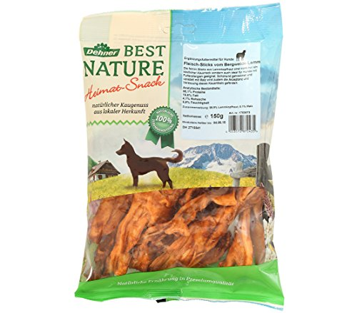 Dehner Best Nature Hundesnack, Lammsticks, (150 g)