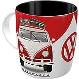 Nostalgic-Art Taza de café retro, VW – Good In Shape – Idea de regalo de furgoneta Volkswagen, Diseño vintage, cerámica, 330 ml