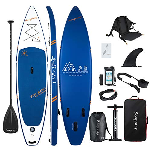 Baturu - Tabla de paddle surf (SUP) hinchable, tabla de surf