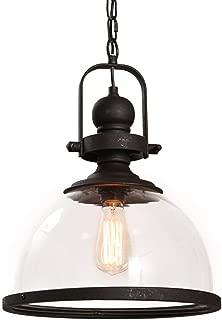 Industrial Nautical Glass Pendant Light, MKLOT 12.20