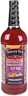 Trader Vic's Premium Syrup, Grenadine, 33.8 Ounces (Pack of 2)