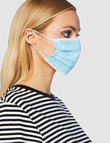 TianKang 3 Layer Type IIR Medical Surgical Face Mask, 98% Bacterial Filtration, Verified and Tested, Non Sterile (Pack…