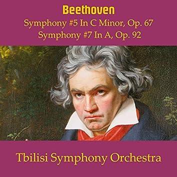 Beethoven Symphonies No. 5 & No. 7