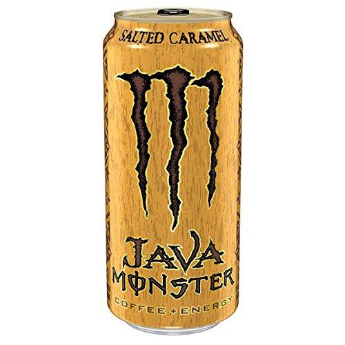 Java Monster Salted Caramel Coffee + Energy (12 x 0,443 Liter Dosen) EINWEG USA-Import
