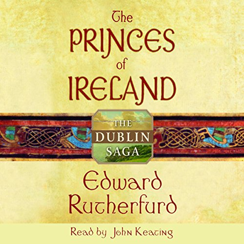 The Princes of Ireland audiobook cover art