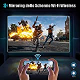 Zoom IMG-2 videoproiettore wifi bluetooth 8000 lumen