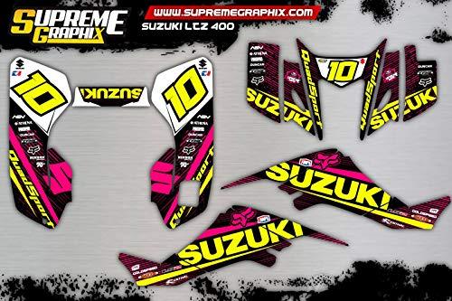 Kit Adhesivos Full Cover Mate Suzuki LTZ 400 ADESIVI Sticker KLEBER AUFKLEBER