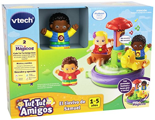 VTech Tut Tut Amigos - El tiovivo de Samuel, playset (3480-168722)