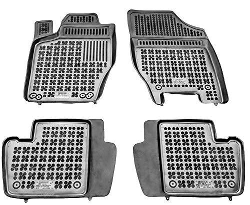 Rezaw-Plast Tapis de sol en caoutchouc compatible avec Peugeot 307 Modèle avec extincteur (2001-2008) + cadeau