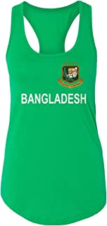 SMARTZONE Cricket Bangladesh Jersey Style Fans Supporter Racerback Tank Top