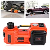 Electric Jack,Lift Jack 5Ton 12V DC Automotive Car Electric Hydraulic Floor Jack Lift Garage and Emergency Equipment