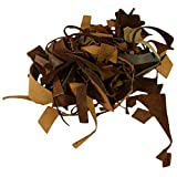Hide & Drink, Cow Leather Chips & Scraps, Trimming Rustic Pieces (1.8mm), Craft & Workshop (8 Ounce) :: Brown...
