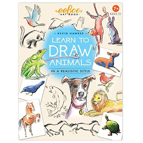 eeBoo Learn to Draw Animals, Art Book 3