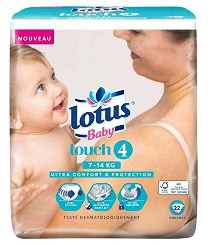 "Lotus Couches Baby ""Touch 4"" (7-14Kg) X22 (lot de 2)"