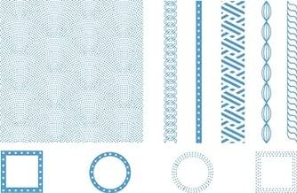 QUICKUTZ Lifestyle Crafts Lifestyle Crafts Nautical Letterpress Printing Plate Set
